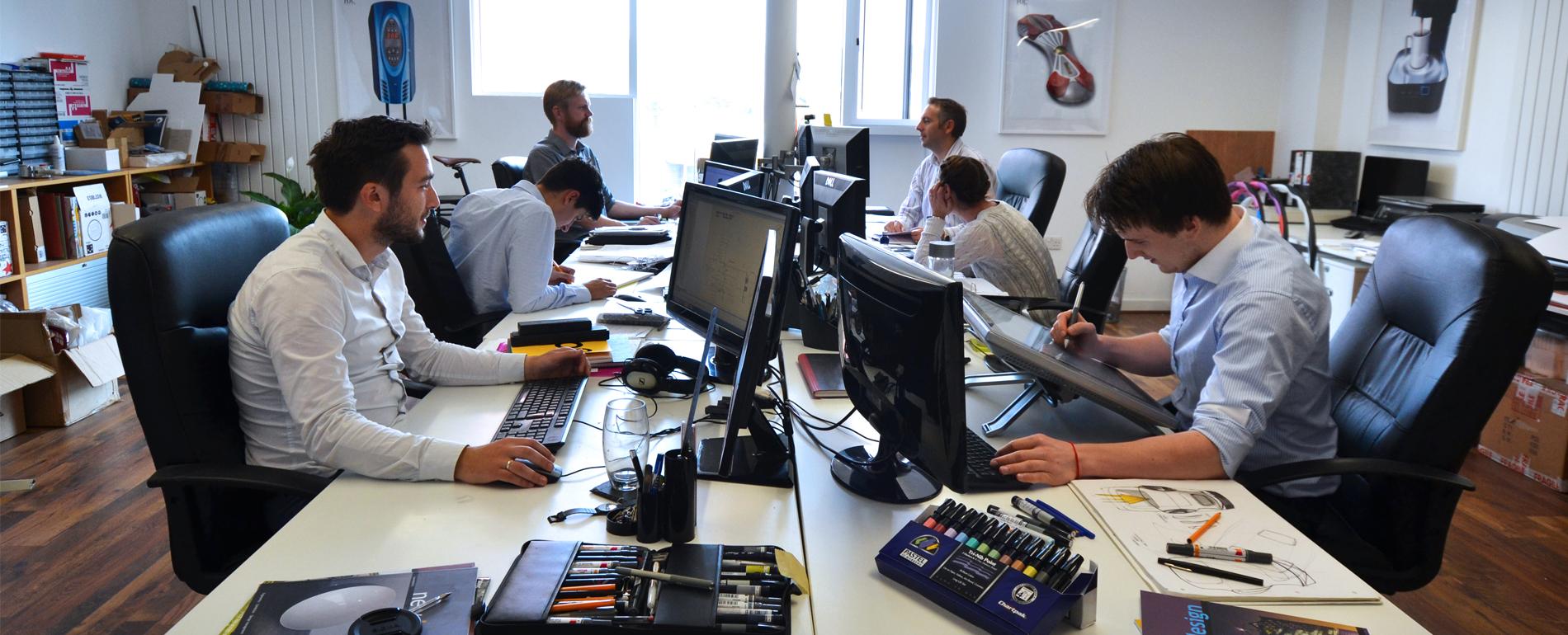 product and industrial design studio london hjc design ltd